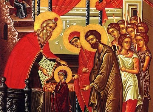聖母進殿節:意義解說 The Entrance of the Theotokos (Introduction)