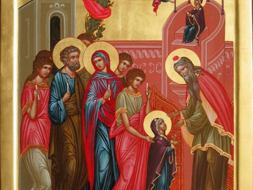 聖母進殿節:聖像畫解說 The Entrance of the Theotokos (Icon)