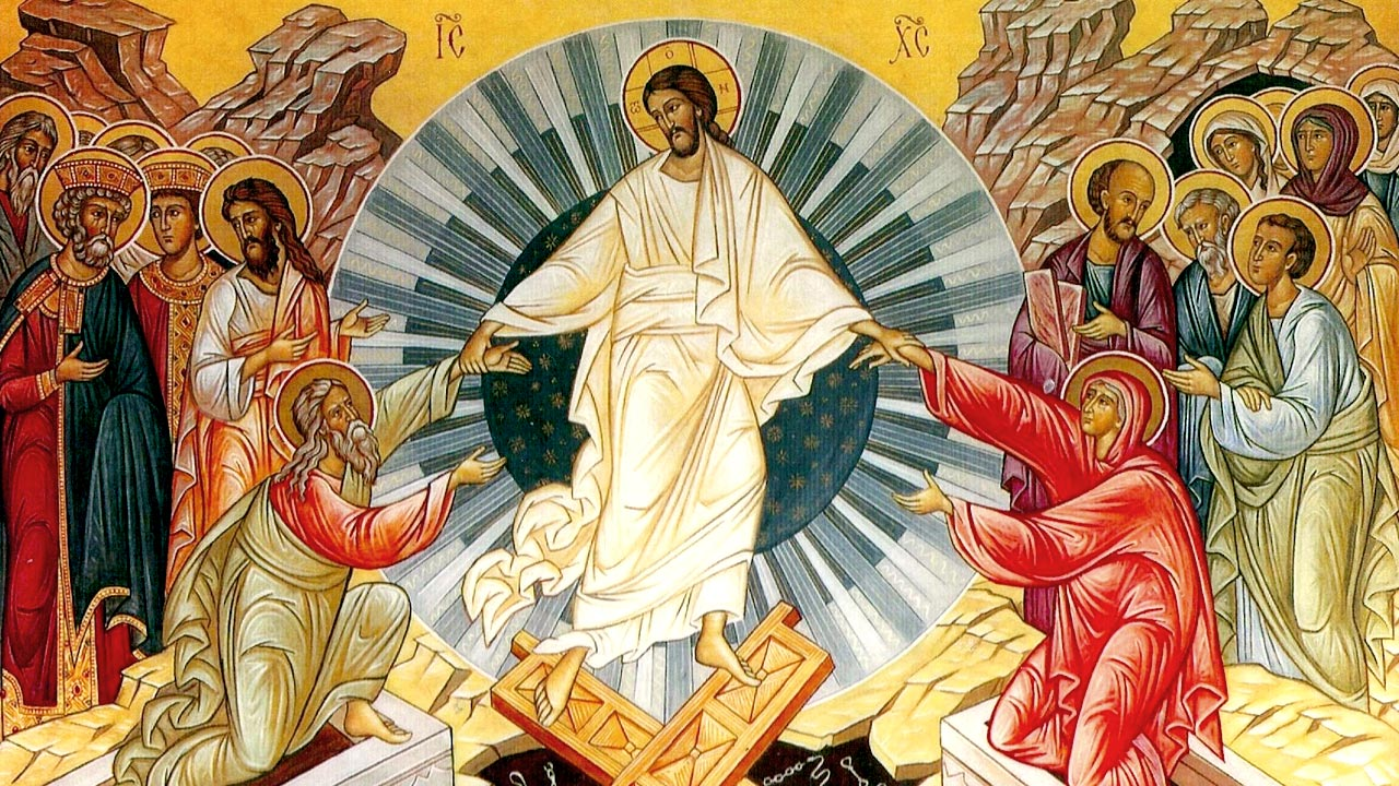 復活節:基督復活了! Easter: Christ Is Risen!
