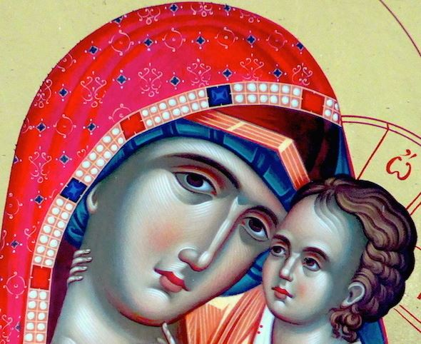 聖像畫的故事:聖母安息日(一) Icon Story: Dormition of the Mother of God