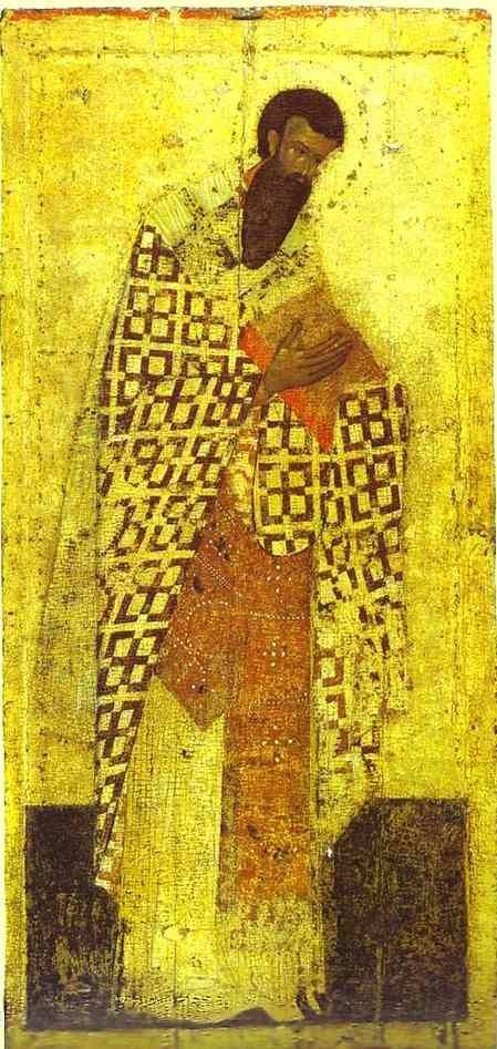 saint Basil the great by theophanes the Greek