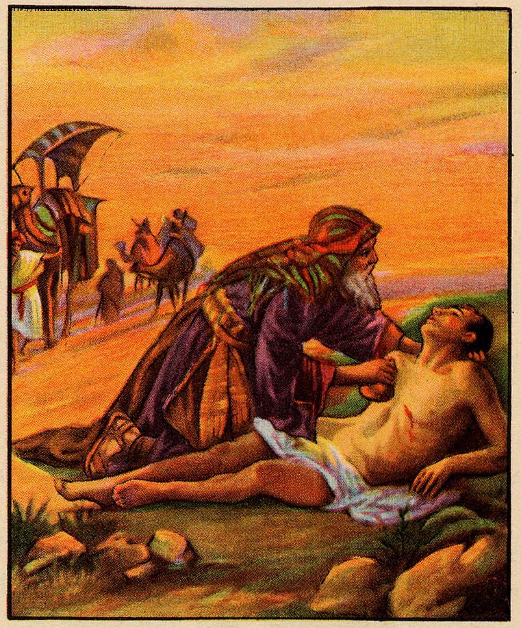 好心的撒瑪利亞人:看見苦難,看見愛 The Good Samaritan: Look at the Suffering, Look at Christ