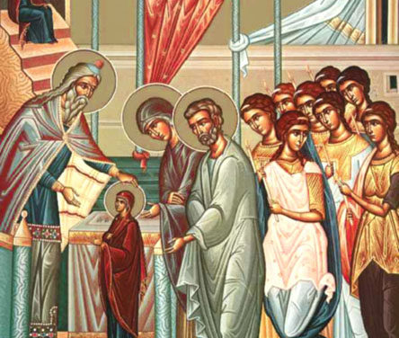 聖母進殿節:講道 The Entrance of the Theotokos (Sermon)